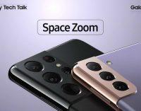 Câu chuyện công nghệ Galaxy S21 (10): Space Zoom