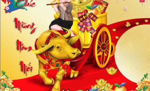 Chúc Mừng Xuân Tân Sửu 2021 – Happy Year of the Ox 2021