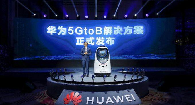 Huawei ra mắt giải pháp một cửa 5GtoB dựa trên 5G