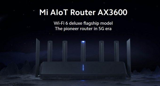 Mi AIoT Router AX3600: Router Wi-Fi 6 đầu tiên từ Xiaomi