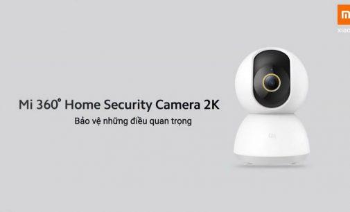 Camera an ninh 2K Mi 360º Home Security độ phân giải 2K
