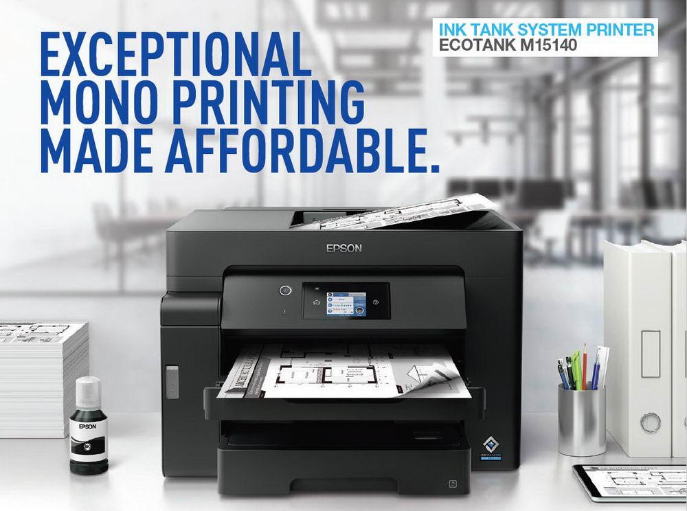 Epson ra mắt máy in EcoTank In Không Nhiệt thế hệ mới cho doanh nghiệp |  MediaOnline Magazine