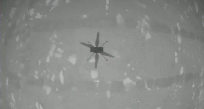Trực thăng không gian lần đầu tiên bay trên Sao Hỏa