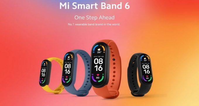 Vòng đeo tay sức khỏe thông minh Mi Smart Band 6