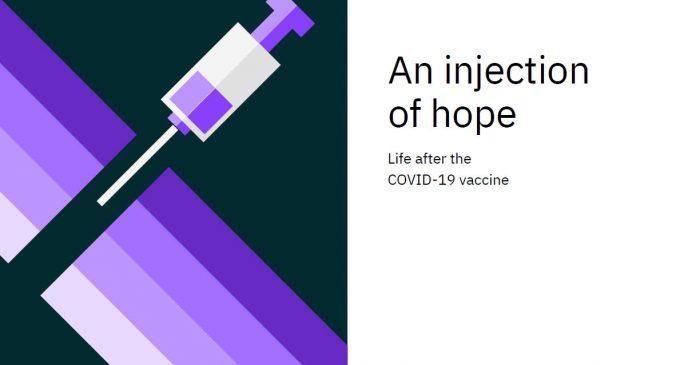Nghiên cứu của IBM về ngành bán lẻ và lữ hành thế giới sau khi người tiêu dùng được tiêm vaccine ngừa COVID-19