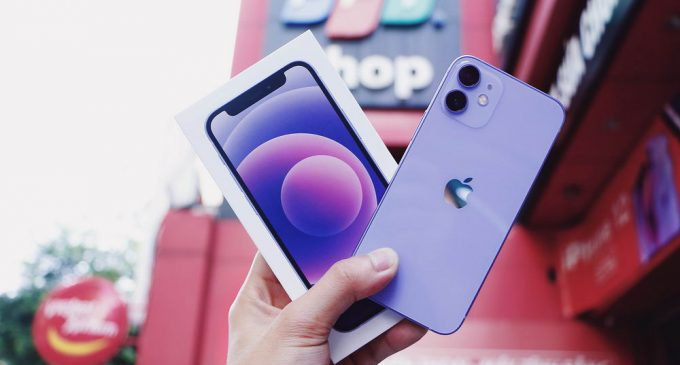 FPT Shop đã lên kệ iPhone 12 chính hãng màu Tím mới