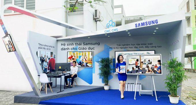 Samsung ứng dụng nhiều giải pháp giáo dục số hóa tại Việt Nam