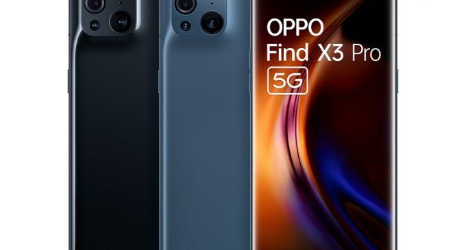 OPPO Find X3 Pro 5G chạy chip Qualcomm Snapdragon 888 và hỗ trợ 1 tỷ màu có mặt tại Việt Nam