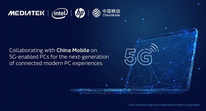 China Mobile, HP, Intel, và MediaTek hợp tác để mang kết nối 5G tới PC