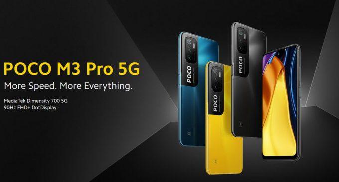 Smartphone POCO M3 Pro 5G ra mắt thị trường Việt Nam với giá dưới 5,5 triệu đồng