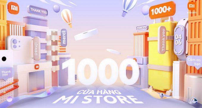 Xiaomi đạt mốc 1.000 cửa hàng Mi Store trên thị trường quốc tế và mở sự kiện khuyến mại lớn chào mừng