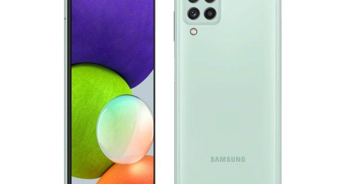 Bộ đôi Samsung Galaxy A22 LTE và 5G với công nghệ camera chống rung OIS cho phân khúc dưới 6 triệu đồng