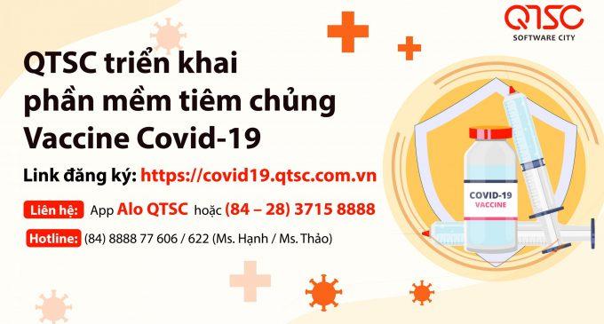 QTSC xây dựng phần mêm MedPro đăng ký tiêm vaccine COVID-19