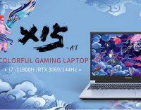 COLORFUL ra mắt gaming laptop X15-AT với đồ họa GeForce RTX 3060