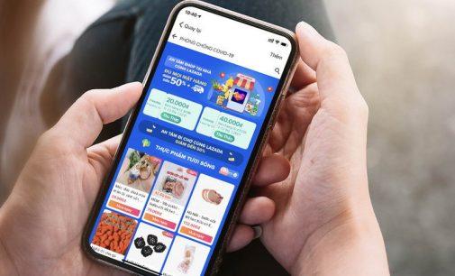 Lượng mua hàng online trên sàn Lazada tiếp tục tăng vọt trong quý 2-2021