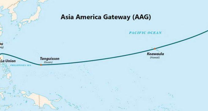 Tuyến cáp quang Internet quốc tế AAG vừa sửa xong lại bị sự cố
