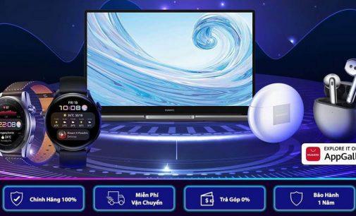 Huawei bán laptop HUAWEI Matebook D 15 trên sàn Lazada và những khuyến mại sản phẩm nhân Ngày hội Super Brand Day 22-7
