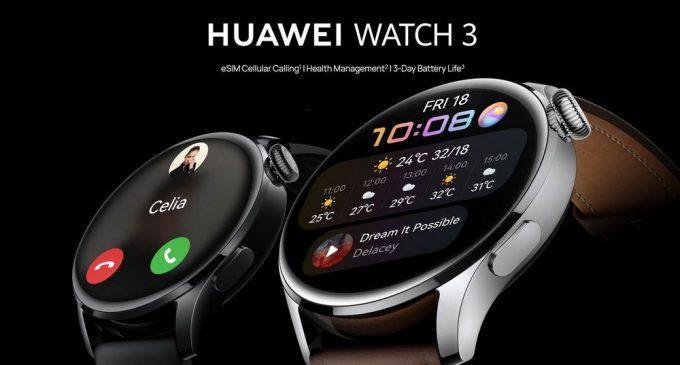 Huawei giới thiệu bộ đôi smartwatch cao cấp HUAWEI Watch 3 và Watch 3 Pro tại Việt Nam
