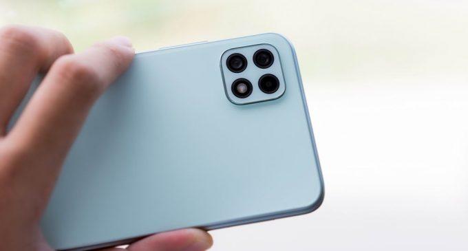 Smartphone Samsung Galaxy A22 5G giảm 300.000 đồng kèm trả góp 0% lãi suất tại FPT Shop