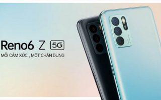 Các tính năng của smartphone OPPO Reno6 Z 5G
