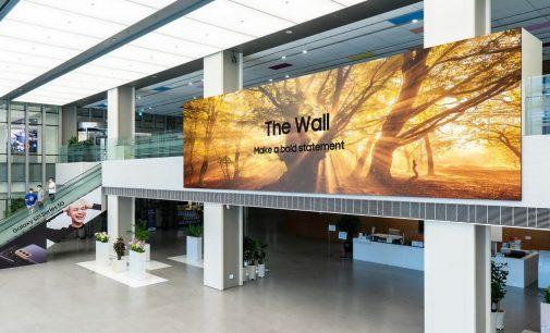 Samsung ra mắt màn hình The Wall 2021 rộng hơn 1.000 inch trên toàn cầu