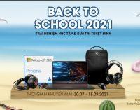 Khuyến mại laptop MSI cho sinh viên – học sinh Back to School 2021