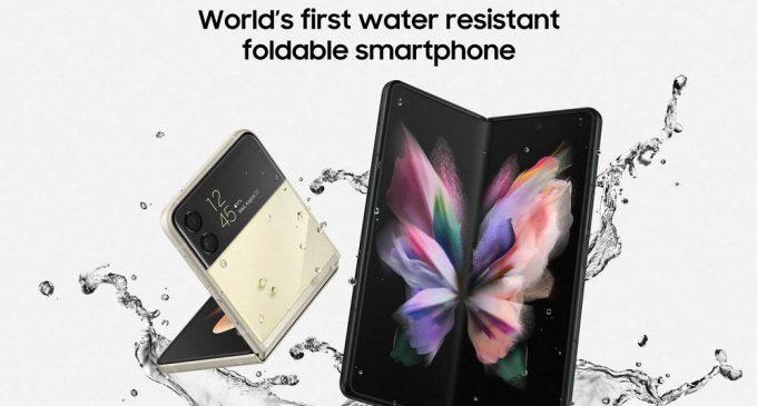 Bộ đôi Samsung Galaxy Z series 2021 bán ở Việt Nam giá từ 24,9 triệu đồng (Flip3 5G) và từ 41,9 triệu đồng (Fold3 5G)