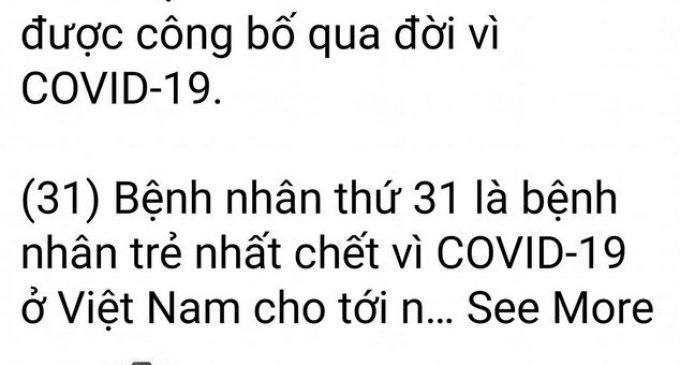 Cập nhật tình hình COVID-19 tới sáng 29-8-2021 ở Việt Nam