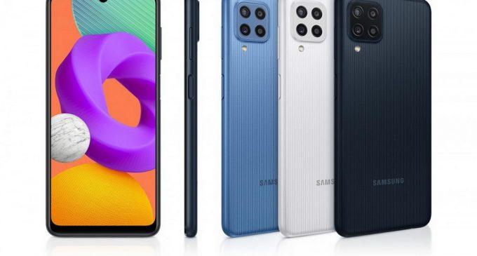 Samsung Galaxy M22 với màn hình Super AMOLED 90Hz