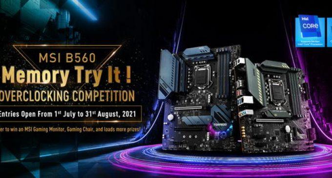 Kết quả Cuộc thi ép xung MSI B560 Memory Try It!