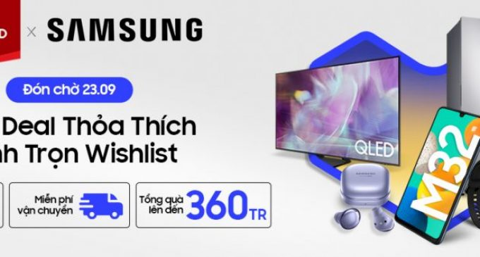 Ngày hội Siêu thương hiệu Samsung năm 2021 trên Lazada với các ưu đãi độc quyền