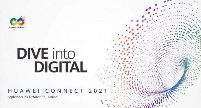 HUAWEI CONNECT 2021: Đổi mới không ngừng để số hóa nhanh hơn