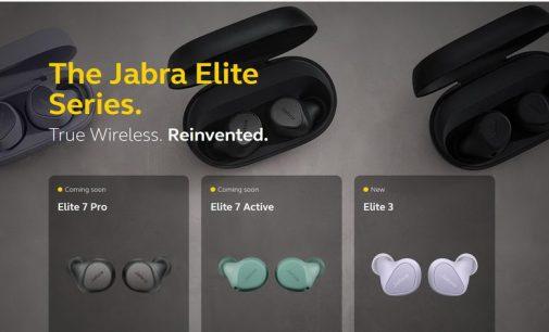 Jabra cải tiến công nghệ true wireless  với dòng tai nghe nhét tai Elite mới