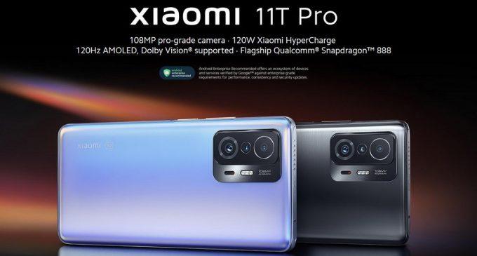 Dòng smartphone cao cấp Xiaomi 11T series 5G và Xiaomi 11 Lite NE 5G bán tại Việt Nam với giá từ 8.990.000 đồng