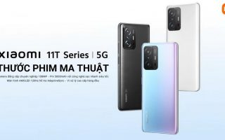 Xiaomi ra mắt Xiaomi 11T series tại Việt Nam