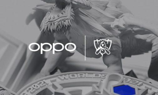 OPPO tài trợ Giải Vô địch Liên minh Huyền thoại Thế giới 2021 với chiến lược esports