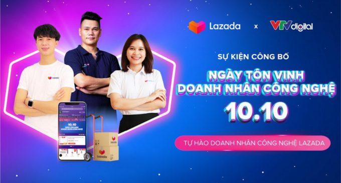 Lazada Việt Nam công bố Ngày tôn vinh Doanh nhân Công nghệ 10-10